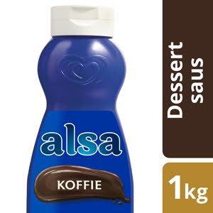 Alsa Toppingsaus Koffie 1L