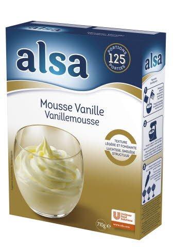 Alsa Vanille Mousse Poeder 125 porties
