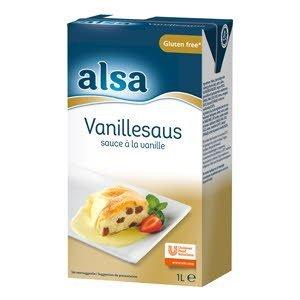 Alsa Vanille Saus Vloeibaar 1L