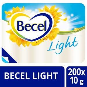 Becel Light 38% portieverpakking 200x10g -
