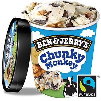Ben & Jerry's Pint Chunky Monkey 500ml -