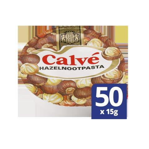 Calvé Hazelnootpasta 50x15g -