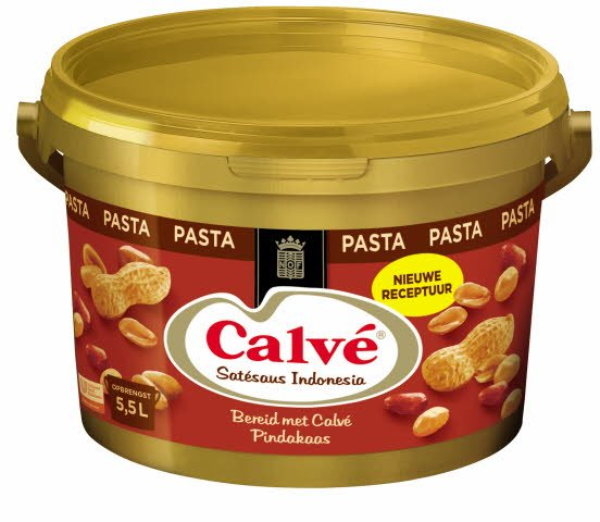 Calvé Satésaus Indonesia Pasta 2,5kg