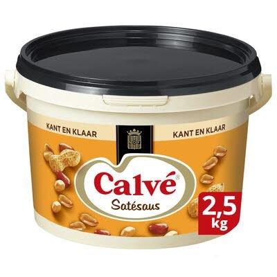 Calvé Satésaus Kant-en-Klaar 2,5kg -