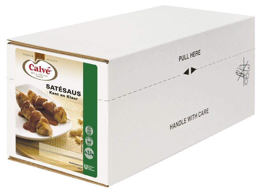 Calvé Satésaus Kant-en-Klaar 4x2,5L
