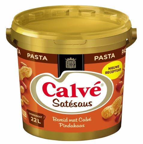 Calvé Satésaus Pasta 10kg