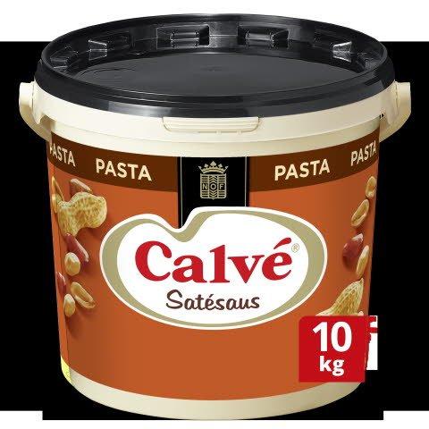 Calvé Satésaus Pasta 10kg -