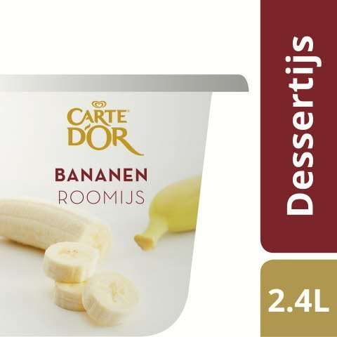 Carte d'Or Bananen roomijs