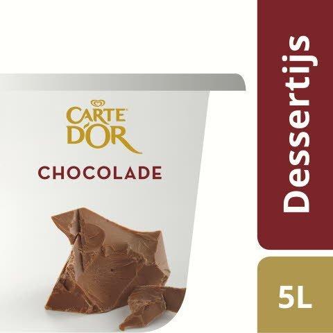 Carte d'Or Dessertijs Chocolade 5L