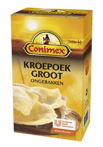 Conimex Kroepoek Ongebakken groot 0,5kg