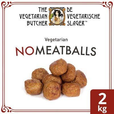 De Vegetarische Slager NoMeatball Vegetarische Gehaktbal Klein 2kg -