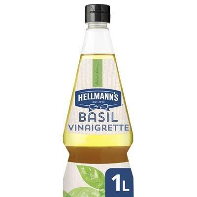 Hellmann's Basil Vinaigrette Vloeibaar 1L -