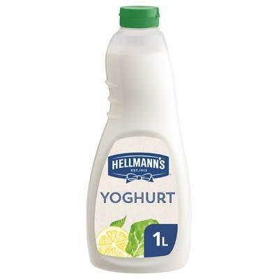 Hellmann's Dressing met Yoghurt Vloeibaar 1L -