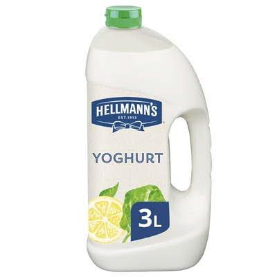 Hellmann's Dressing met Yoghurt Vloeibaar 3L -
