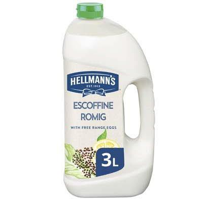 Hellmann's Escoffine Romig Vloeibaar 3L -