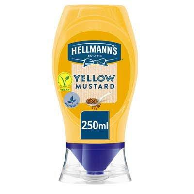 Hellmann's Gele Mosterd 250ml -