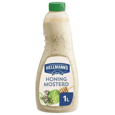 Hellmann's Honing Mosterd Dressing Vloeibaar 1L -