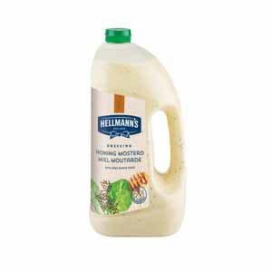 Hellmann's Honing Mosterd Dressing Vloeibaar 3L -