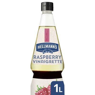 Hellmann's Raspberry Vinaigrette Vloeibaar 1L -
