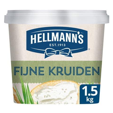 Hellmann's Sandwich Delight Fijne Kruiden/Bieslook & Peterselie 1,5kg -