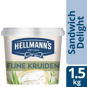 Hellmann's Sandwich Delight Fijne Kruiden/Bieslook & Peterselie