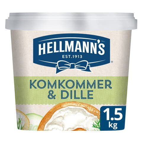 Hellmann's Sandwich Delight Komkommer & Dille 1,5kg -