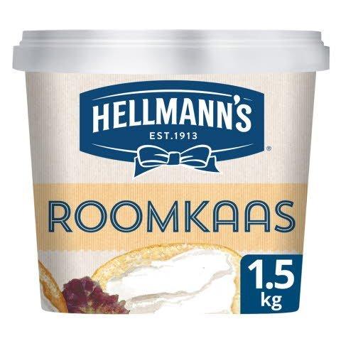 Hellmann's Sandwich Delight Roomkaas 1,5kg -