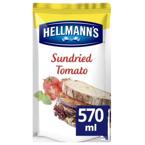 Hellmann's Sandwich Saus Zongedroogde Tomaat 570ml -