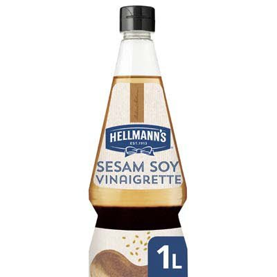 Hellmann's Sesam Soy Vinaigrette Vloeibaar 1L