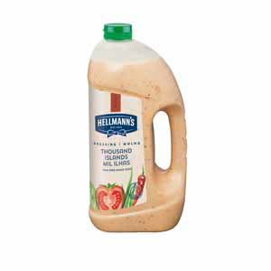 Hellmann's Thousand Islands Dressing Vloeibaar 3L -
