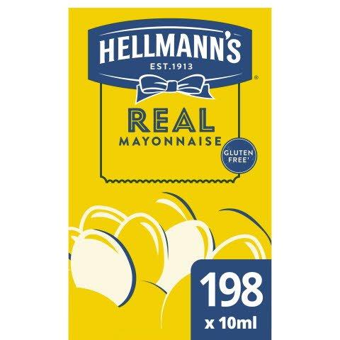 Hellmann's Real Mayonaise portieverpakking 10 ml -