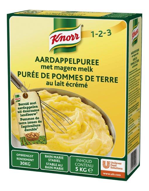 Knorr 1-2-3 Aardappelpuree met melk