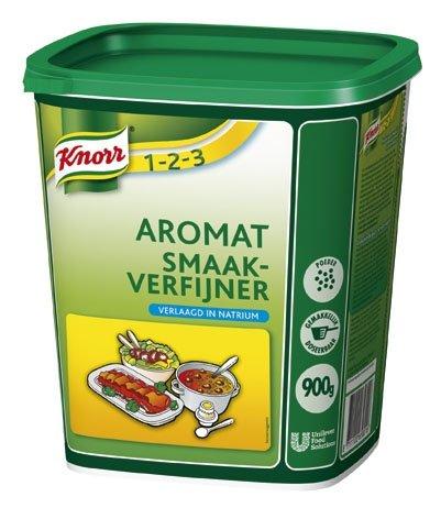 Knorr 1-2-3 Aromat Verlaagd in Natrium