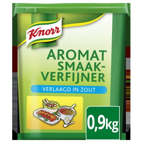 Knorr 1-2-3 Aromat Verlaagd in Zout 0,9kg -