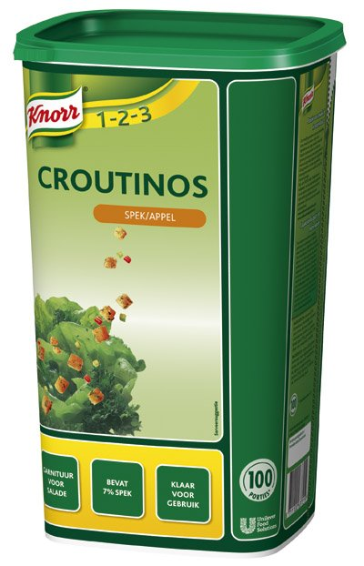 Knorr 1-2-3 Croutinos met Spek en Appel 700g