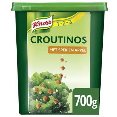 Knorr 1-2-3 Croutinos met Spek en Appel 700g -