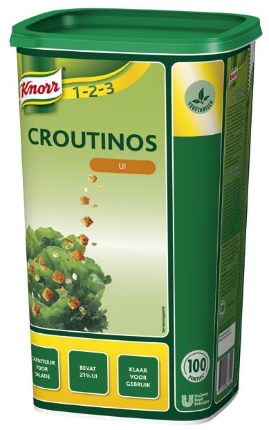 Knorr 1-2-3 Croutinos met Ui -
