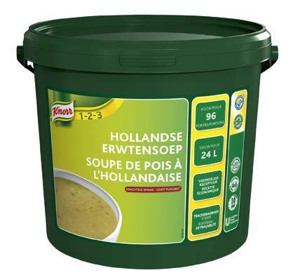 Knorr 1-2-3 Erwtensoep in grootverpakking