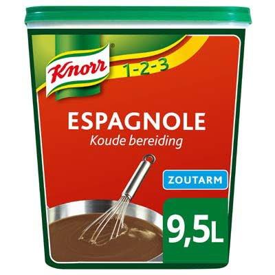 Knorr 1-2-3 Espagnole Saus Zoutarm 0,95kg -