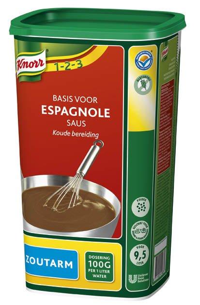 Knorr 1-2-3 Espagnole Saus Zoutarm