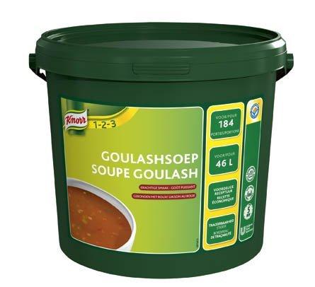 Knorr 1-2-3 Goulashsoep in grootverpakking