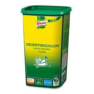 Knorr 1-2-3 Groentebouillon Koude Basis Zoutarm 80L