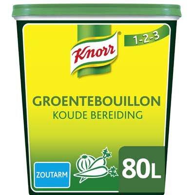 Knorr 1-2-3 Groentebouillon Koude Basis Zoutarm opbrengst 80L -