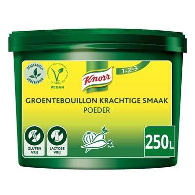 Knorr 1-2-3 Groentebouillon krachtige smaak Poeder opbrengst 250L -