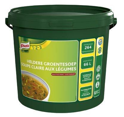 Knorr 1-2-3 Heldere Groentesoep in grootverpakking