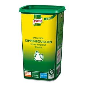 Knorr 1-2-3 Kippenbouillon Koude Basis Zoutarm 120L