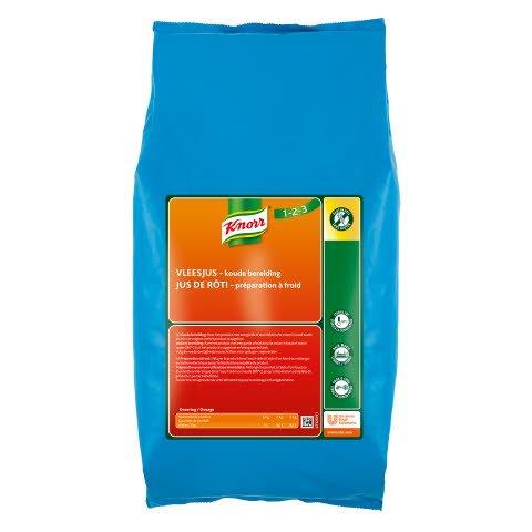 Knorr 1-2-3 Koude Basis Vleesjus Poeder opbrengst 46L -