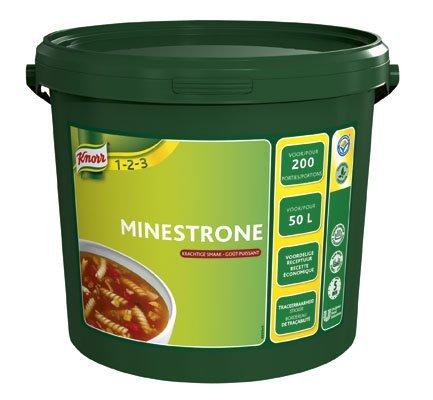 Knorr 1-2-3 Minestronesoep in grootverpakking Poeder 50L