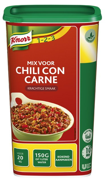 Knorr 1-2-3 Mix voor Chili con Carne -