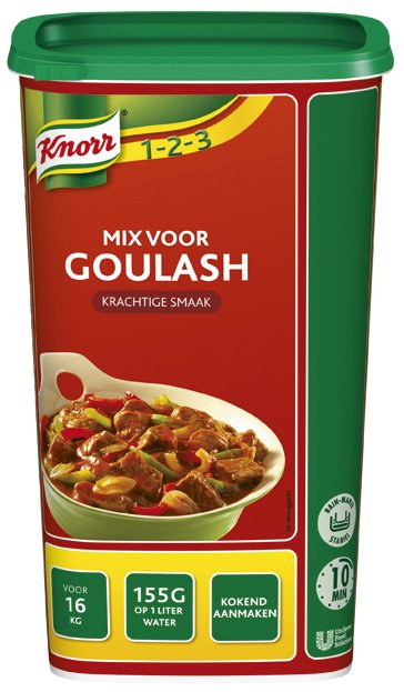 Knorr 1-2-3 Mix voor Goulash 1,24kg